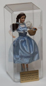 30cm Size Personalised Engraved Doll Acrylic Display Case - Bevelled Edges - No Character Limit