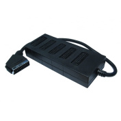 SCART Splitter Adapter - 1 to 5 - 5 way