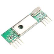 HALJIA DC3V-5.5V RXB6 433Mhz RF Superheterodyne Wireless Receiver Module for Arduino/ARM/AVR