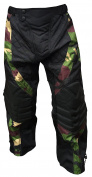 *SALE* CKSN Deniable-Ops Paintball Airsoft Hunting Fishing Pants Woodland Camo Camouflage Trousers Tactical Military Paintballing Shooting Clay Metal Detecting - Padded Knees Fully Lined - Lumber Padding and Insulation