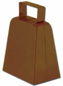 10cm Metal Cowbell Cow Bell Sports Toy Instrument Noisemaker Noise Maker