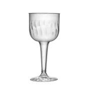 Fineline Settings, Inc Flairware Rippled Disposable Plastic 240ml Wine Goblet