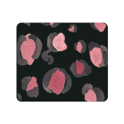 OTM Prints Black Mouse Pad, Spotted Berry