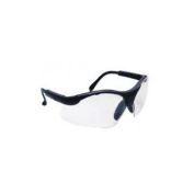 Brand New S A S Safety Corp Sa541-0000 Sidewindr Sfty Glasses Blk Frame Cl