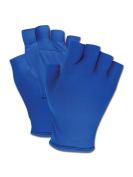 Magid Fingerless Gel Palm Padded Impact Gloves Medium, Pair