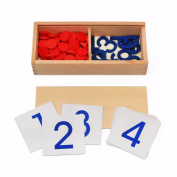 Math Card Wooden Education Toy Multiplication Math Study Creative Wooden Toy For Kids Children Calculator Toys