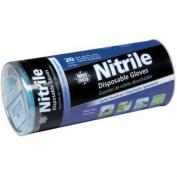 291020 Disposable Blue Nitrile Gloves Powdered 20/Pk Tube