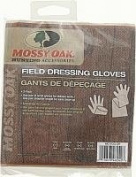 Mossy Oak Field Dressing Gloves, White