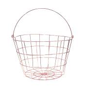 Saveur et Degustation ka1495 Fruit Basket Metal Copper 24.2 x 24.2 x 27.40 cm