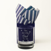 """You are Like a Dad to Me"" Whisky Glass, Tumbler, Engraved, Presented in a Gift Box with Co-ordinating Tissue as shown. Step Dad Gift, Foster Dad Gift, Like A Dad Present, Birthday"