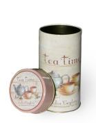 Round Tea Caddy - India Ceylon Tea Company - 12.5cm