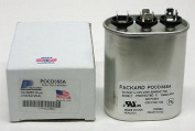 TitanHD POCD355A American-Made HVAC Oval Motor Run Dual Capacitor. 35/5 MFD/UF 370 Volts