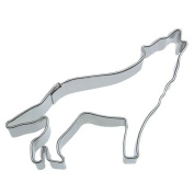 Staedter Wolf Shape Cookie Cutter, Silver