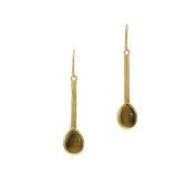 Pippa Small Gold Plated Sterling Silver Bilqis Earrings