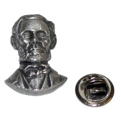 Abraham Lincoln American President Lapel Pin Badge In British Pewter Gifts For Him