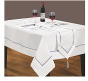 Home Bedding Store White Table Runner Luxury Kensington