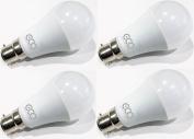 3 Pin BC3 NON-DIMMABLE 12W Energy Saving LED Light Bulb, Warm White (3000K), 6000Hrs+ Lifetime.