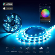 Wifi LED Strip Light Work with Amazon Alexa 5M 300LEDs 5050 RGB Multicolor Waterproof IP65
