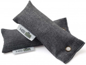 Moso Natural - Mini Air Purifying Bag Charcoal Fragrance Free - 2 x 50g Bags