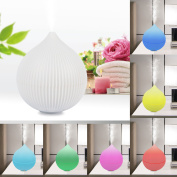iMounTEK Onion Shape 7 LED Different Colours/330 ML Ultrasonic Aromatherapy Essential Oil [Air Diffuser/Aroma Humidifier] Auto-Shut OFF-Baby/Kids/Bedroom/Office/Car/Spa/Yoga Cool Mist Ioniser/Purifier