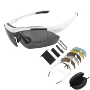 KT SUPPLY Sports Sunglasses Cycling Goggles Outdoor Bicycle Riding Driving UV Protection Polarised Glasses With 5 Lens
