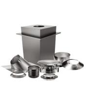 DURAVENT SD9085 15cm 24-Gauge Stainless Steel DURAPLUS Basic Ceiling Kit