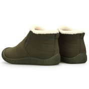 Gracosy Women Snow Boots, Warm Boots Winter Outdoor Slip On Ankle Snow Booties With Fur Lined Unisex For Women & Men and Girls