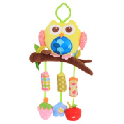 Stroller Hanging Musical Toy Animal Hanging Bell Crib Rattle Toy