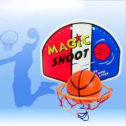 Winkey Indoor Outdoor Kids Toy Basketball Hoop Board Plastic Hoop Set With Indoor Hanging Hoops Game ,Gift for Kids