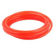Unique Bargains Polyurethane PU Air Hose Tubing Tube Pipe Clear Orange 12 x 8mm 5M Length