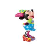 Enesco Disney by Britto Minnie Mouse Mini Stone Resin Figurine, 8.3cm