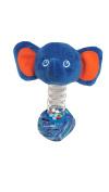 World of Eric Carle Carle Bead Stick Rattle Elephant Plush