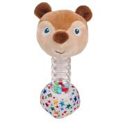 World of Eric Carle Bead Stick Rattle Brown Bear Plush