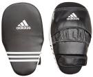 Adidas Premium Curved Long Training Focus Punch Mitts - Black/White