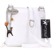 Catwalk Collection Leather Cross-Body Bag - Lena