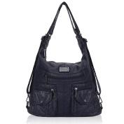 Veevan Women Shoulder Handbags Multipurpose Hobo Bag Backpack Purse With Adjustable Straps