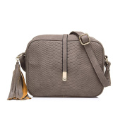 Realer Small PU Leather Purses Crossbody Bags for Women with Tassel and adjustable strap