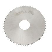 Unique Bargains HSS 72 Teeth 63mm x 16mm x 1.5mm Circular Slitting Saw Cutter