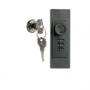 DURABLE OFFICE PRODUCTS CORP. Locking Key Cabinet, 72-Key, Brushed Aluminium, 11 7/8 X 4 3/4 X 15 3/4