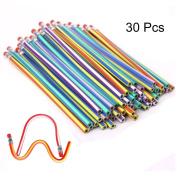 30Pcs Soft Flexible Bendy Pencils Children School Fun Equipment For Party