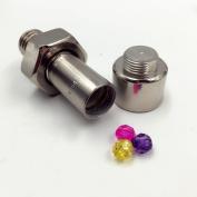 1PC Creative Screw Stash Secret Container Money Bolt Safe Box Hidden Jewelry Nut Pill Case Health Care Organizer