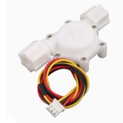 Plastic 0.15-1.5L/min G1/4 Male Thread Water Flow Sensor Flowmeter SEN-HZ06W
