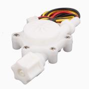 """Unique Bargains High Precision 0.2-2.5L/min G1/4"""" 6mm OD Water Flow Counter Sensor SEN-HZ06FB"""
