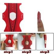 100pcs Rhombus Adhesive Nail Form For Acrylic/UV Gel Nail Tips Extension Manicure Pretty Nail Art Tool