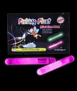 3.8cm Retail Packaged Glow Sticks - Pink