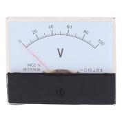 44C2 Pointer Needle DC 0-100V Volt Tester Panel Analogue Voltmeter 100mm x 80mm