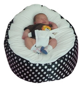 Extra Large Baby Bean Bag with adjustable safety harness & 2 removeable covers-UK Seller