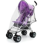 Tippitoes Spark Stroller Raincover Professional Heavy Duty Rain Cover