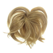 New Style Hair Extension Scrunchie Honey Blonde Up Do Down Do Spiky Twister Elastic
