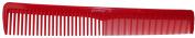 Pro Tip Hairdressing Cutting Comb Medium PTC02 175mm - RED